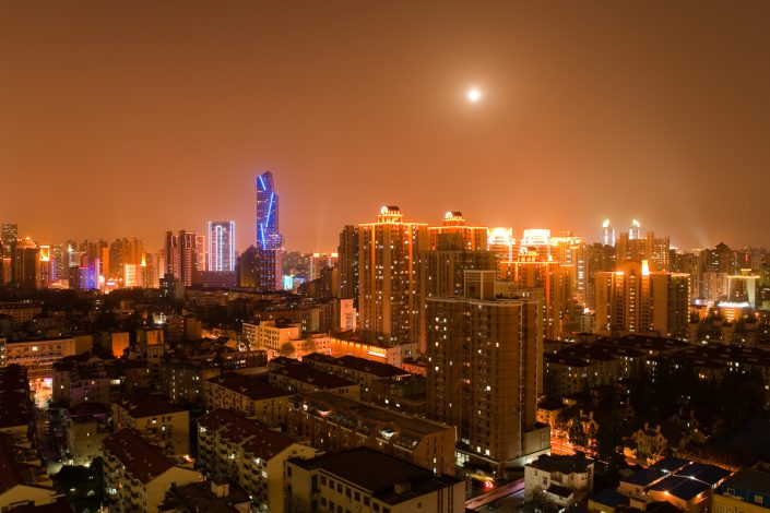 Shanghai downtown skyline